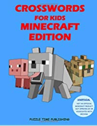 Crosswords for Kids: Minecraft Edition