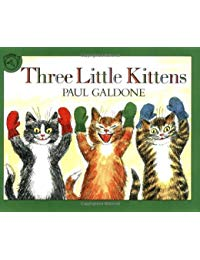 Three Little Kittens Book & CD