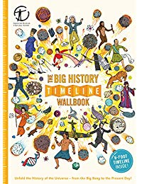 The Big History Timeline Wallbook: Unfold the History of the Universe―from the Big Bang to the Present Day!