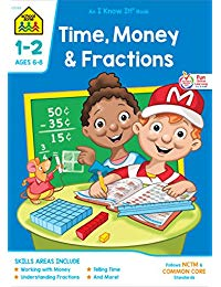 Time, Money & Fractions: I Know It! Workbooks