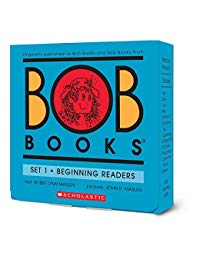 Bob Books Set 1- Beginning Readers (Box Set)