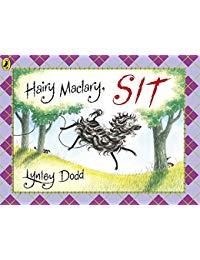 Hairy Maclary Sit