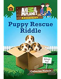 Puppy Rescue Riddle (Animal Planet Adventures Chapter Book #3)