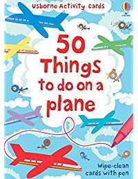 50 Things To Do On A Plane Cards
