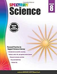 Spectrum Science, Grade 8