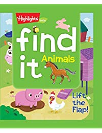 Find It! Animals: Lift the Flap!
