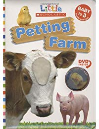 Little Scholastic: Petting Farm: Board Book with DVD