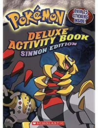 Pokemon Activity Book