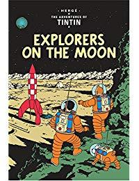 Tintin & Explorers on the Moon