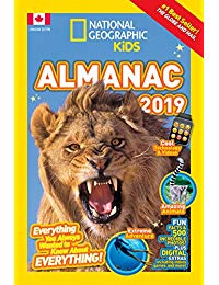National Geographic Kids Almanac 2019, Canadian Edition