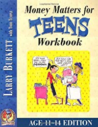 Money Matters Workbook For Teens ( Ages 11 - 14 )