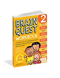 Brain Quest Workbook: Grade 2: A whole year of curriculum-based exercises and activities in one fun book!