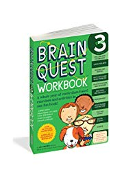 Brain Quest Workbook: Grade 3: A whole year of curriculum-based exercises and activities in one fun book!