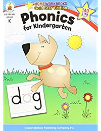 Phonics for Kindergarten, Grade K: Gold Star Edition