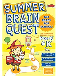 Summer Brain Quest: Between Grades Pre-K & K
