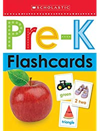 Scholastic Early Learners: Flashcards - Get Ready for Pre-K