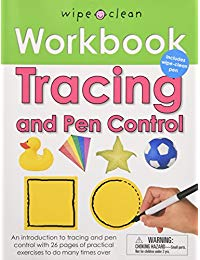 Wipe Clean Workbook Tracing and Pen Control