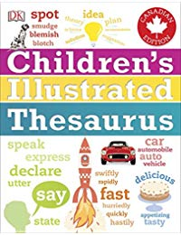 Children's Illustrated Thesaurus Canadian Edition