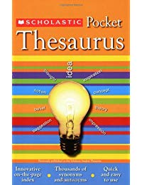 Scholastic Pocket Thesaurus