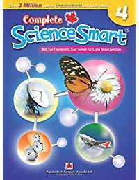 Complete ScienceSmart 4: Canadian Curriculum Science Workbook for Grade 4