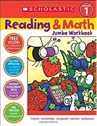 Scholastic Success with Reading and Math Jumbo Workbook: Grade 1
