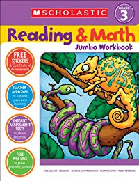 Scholastic Success with Reading and Math Jumbo Workbook: Grade 3