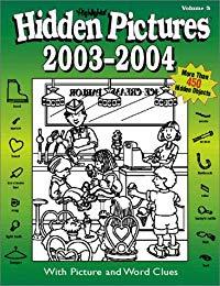 Hidden Pictures 2003 - 2004 Book 3
