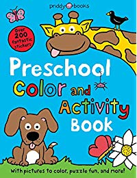 Preschool Color & Activity Book