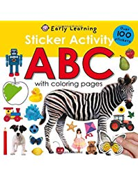 Sticker Activity ABC: Over 100 Stickers with Coloring Pages