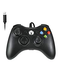 Xbox 360 Controller by RUPPOLAR USB Wired PC Computer Game Controller for Microsoft Windows 7/8/10 Xbox 360 & Slim